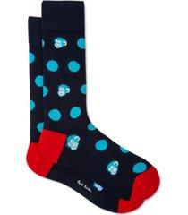 ps paul smith men's spot monkey socks