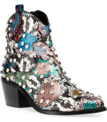betsey johnson women's jenkins western booties women's shoes