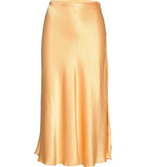 alsop skirt 10447 lång kjol gul samsøe samsøe