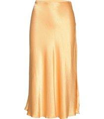 alsop skirt 10447 maxikjol lång kjol gul samsøe samsøe