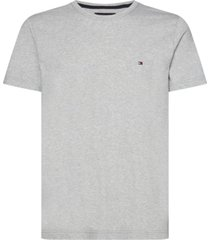 t-shirt manga corta clasica gris tommy hilfiger
