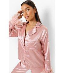premium maid of honour veren pyjama, blush