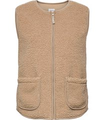 delvinsz vest vests knitted vests beige saint tropez