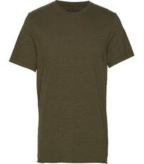 bass slub tee t-shirts short-sleeved grön neuw