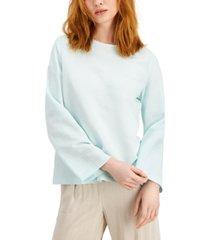 alfani wide-sleeve blouse, created for macy's