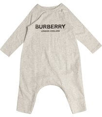 burberry logo detail rompers