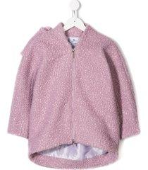 raspberry plum reese coat - purple