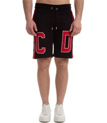 bermuda shorts pantaloncini uomo macro logo
