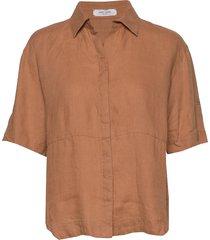blouse 3/4-sleeve blouses short-sleeved brun gerry weber edition