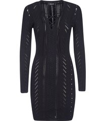 dsquared2 knitted mid-length dress