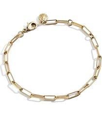 women's baublebar small hera chain bracelet