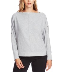 vince camuto boat-neck hardware top
