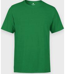 męska koszulka (bez nadruku, gładka) - zielona