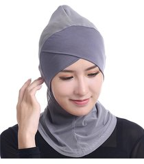 women muslim hijab face-lift single-cross islamic foulard ethnic arabia middle east hat