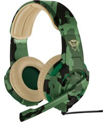 audifono diadema gamer trust gxt 310 3.5 mm pc-laptop-ps4- xbox one verde camuflado
