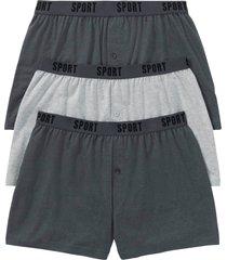 lediga boxershorts i jersey av ekologisk bomull (3-pack)