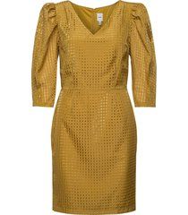 ihkay dr korte jurk geel ichi
