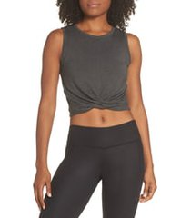 alo cover tank, size small in anthracite heather at nordstrom