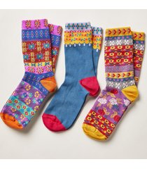 folk dance socks s/3
