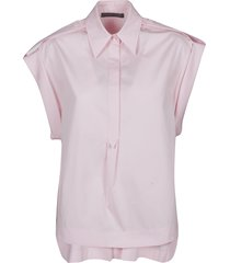 alberta ferretti short-sleeved top