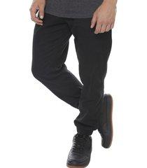 pantalon jogger twill negro corona
