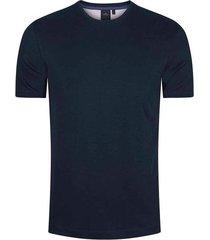 camiseta slim fit con textura para hombre 03775