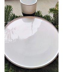 ceramiczny talerz carbon