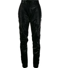 1017 alyx 9sm high-waisted trousers - black