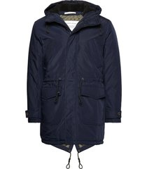 slhdean parka w parka jas blauw selected homme