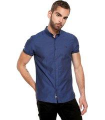 camisa azul  americanino