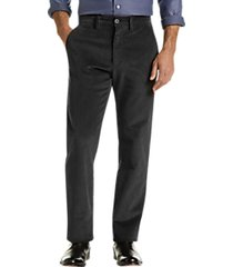 joseph abboud charcoal corduroy modern fit casual pants