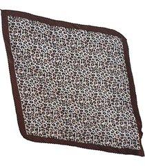 pañuelo  marrón nuevas historias ba1149bis