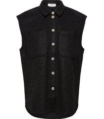 helia waistcoat vests knitted vests grå norr
