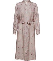 bea dress jurk knielengte roze nué notes