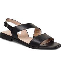 a-1407 shoes summer shoes flat sandals svart wonders