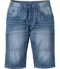bermuda lunghi in jeans loose fit (blu) - john baner jeanswear