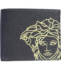 versace designer men's bags, bifold wallet