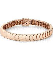 18k rose gold luna bracelet
