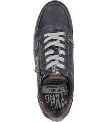 sneakers mustang mörkblå