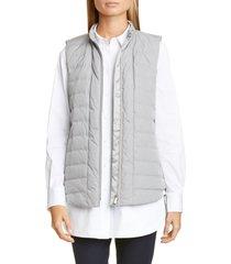 women's lafayette 148 new york brenner down vest