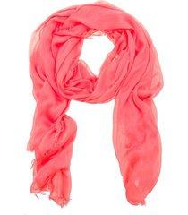 lenço liso bianca cor: rosa pink - tamanho: único
