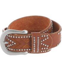 cinturón west marrón humana