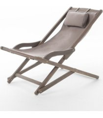 noble house nikki outdoor sling chair, set of 2