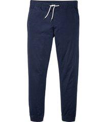 pantaloni elasticizzati con elastico in vita slim fit (blu) - rainbow