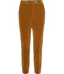 mariiw pant pantalon met rechte pijpen bruin inwear