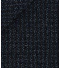 blazer da uomo su misura, loro piana, blu macro pied de poule, autunno inverno | lanieri