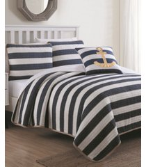 estate hampton 4 piece quilt set king with decorative pillow