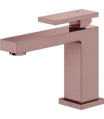 monocomando para banheiro mesa new edge cobre escovado - docol - docol