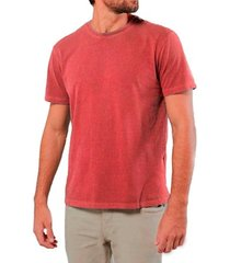 camiseta masculina algodão sandro clothing willy vermelho estonada