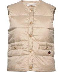 ilse down vest vest beige busnel